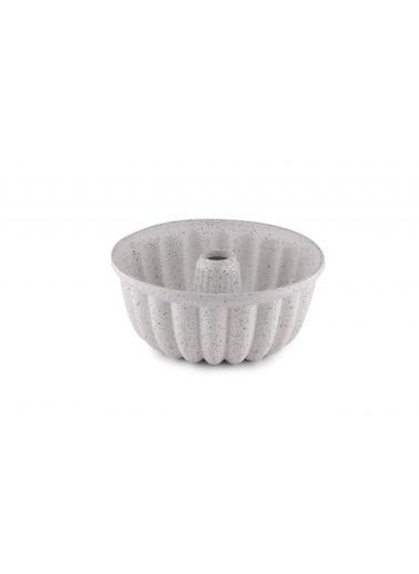 Taç Taç Dilim Döküm Kek Kalıbı Beyaz OU TAC-6554 Renkli